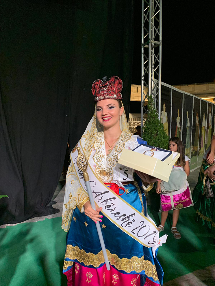 miss arbereshe 2019 ILENIA COLLOCA