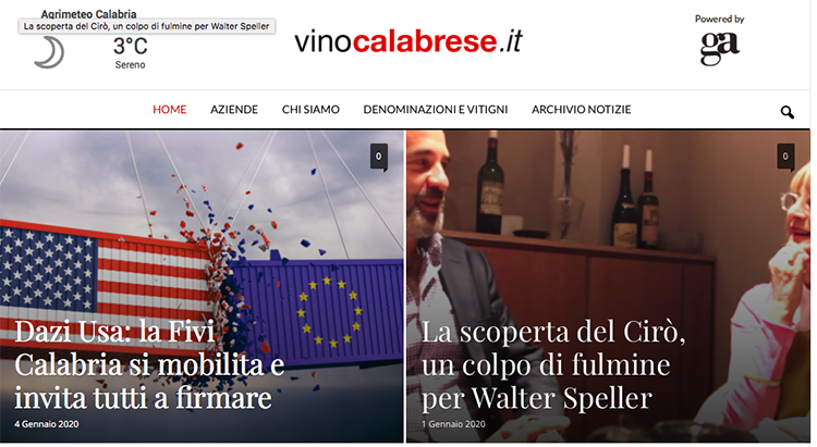 vinocalabrese restyling
